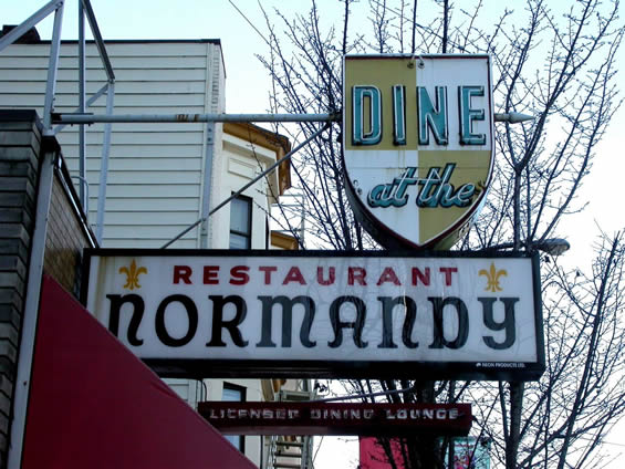 Good food and company—Remembering the Normandy Restaurant