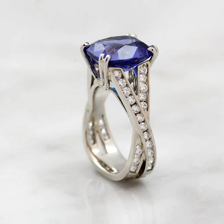 MJ-Jewellers-19k-white-gold-tanzanite-diamond-ring-Valentines-Day-South-Granville-750x750