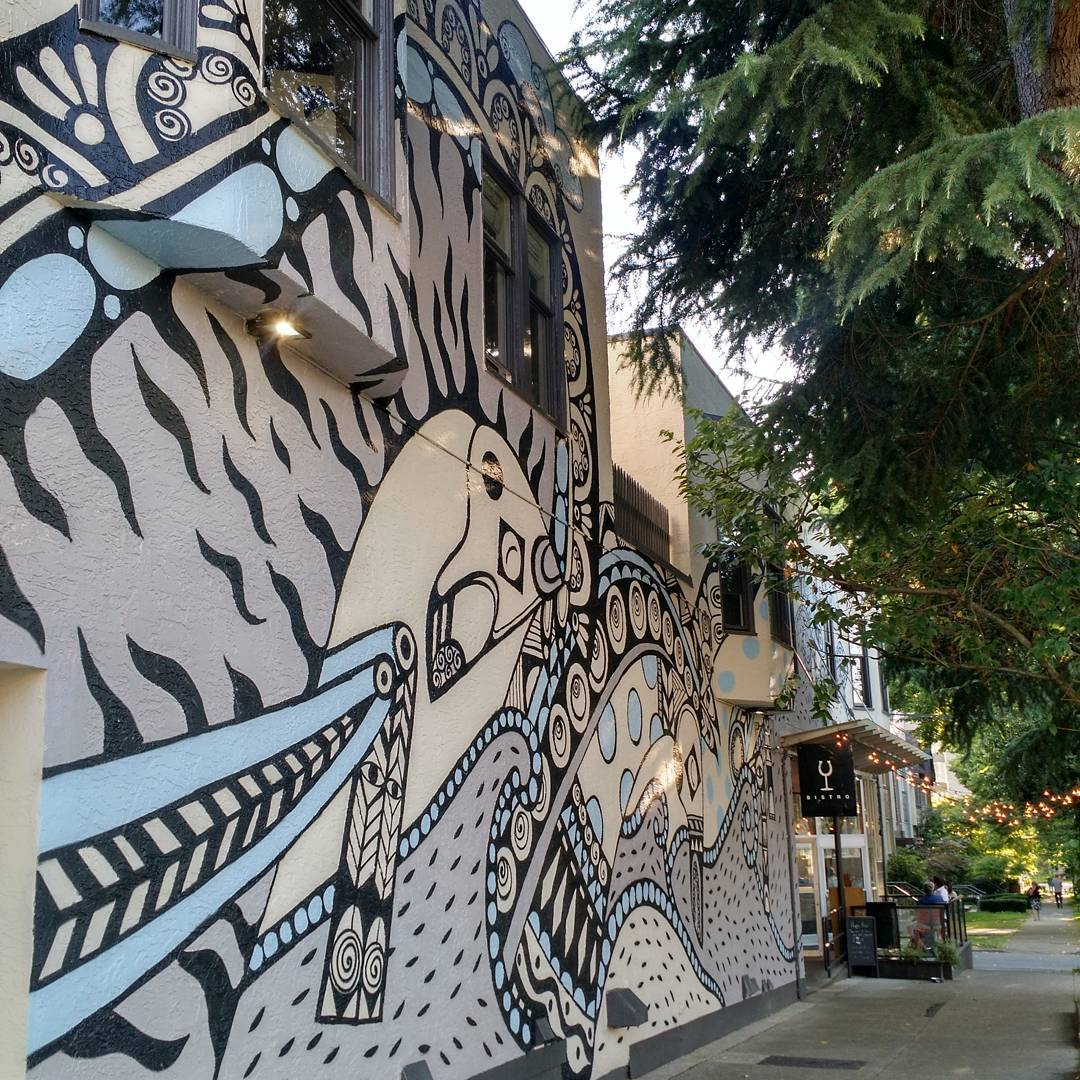 Mural-Artist-Ola-Volo-South-Granville-Vancouver-photo-by-wherevancouver-Instagram