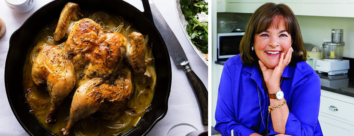 WILLIAMS-SONOMA presents Cooking Technique Class: Ina Garten's Summertime Cooking with Cast Iron, June 25