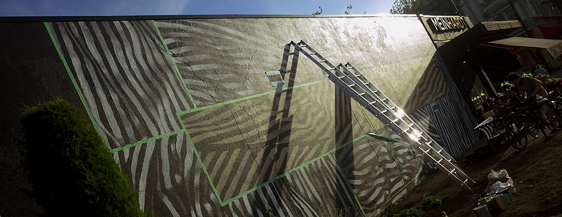 SOUTH GRANVILLE GETS A HEAD START ON THE 2017 SUMMER MURAL SEASON
