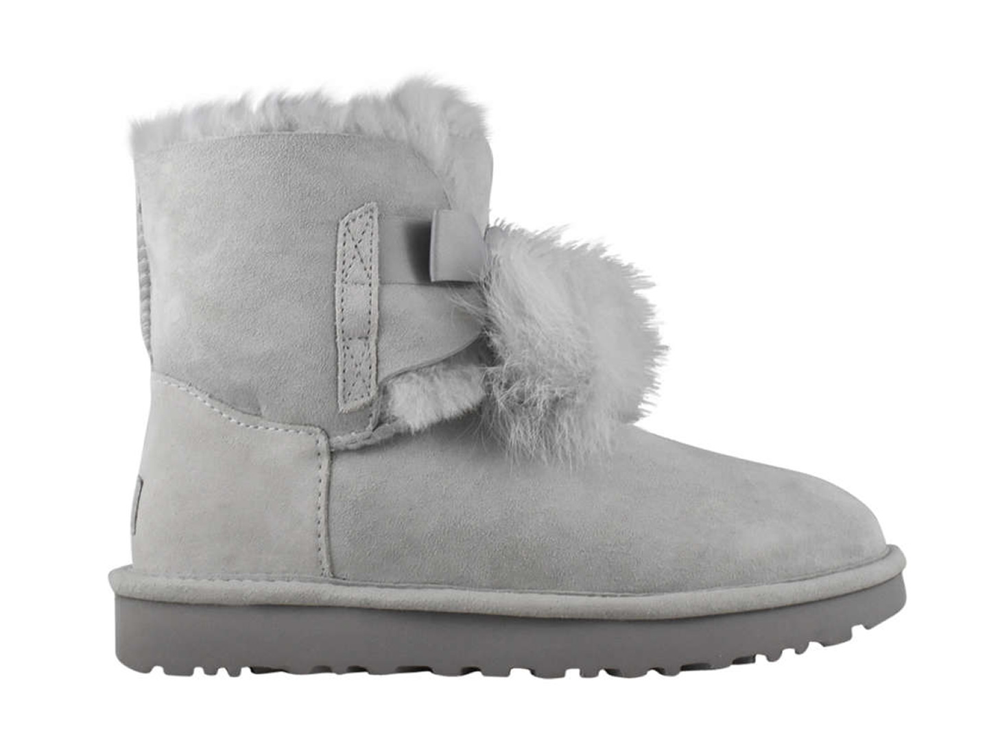 UGG Grey Gita Pom Pom Bootie, Town Shoes, South Granville Holiday Gift Guide 2017, Vancouver, British Columbia, Canada
