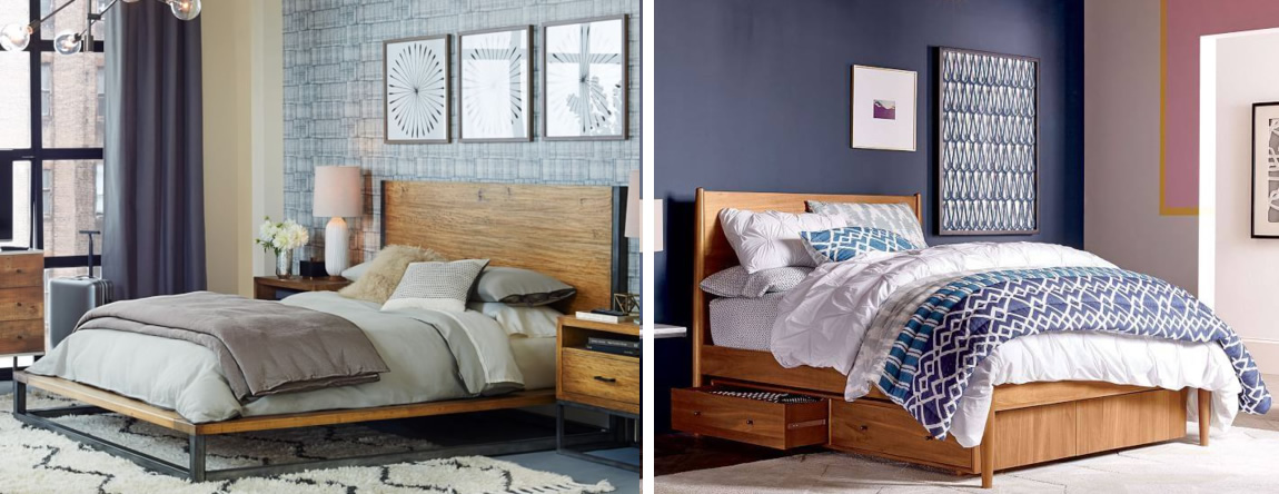 Great West Elm Beds Collection