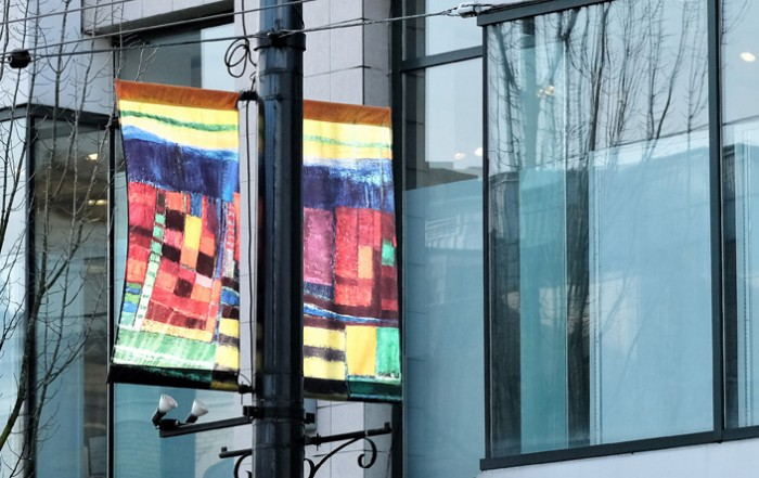 Sylvia-Tait-New-Banners-South-Granville-Vancouver