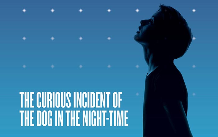 The Curious Incident Of The Dog In The Night-Time at The Stanley Theatre Sept 6 – Oct 7 2018