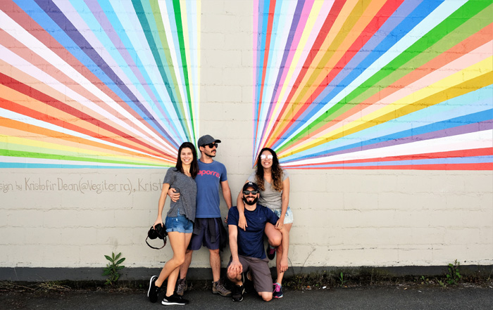 Vancouver-Mural-Rainbow-Wall-South-Granville-Vancouver