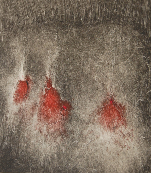 Elissa-Cristall-Gallery-Marty-Levenson-Monoprint-32-works-on-paper-contemporary-art-Vancouver-e1550539459923
